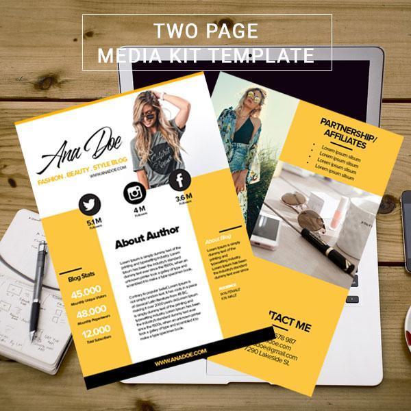 Gold Montage Media Kit